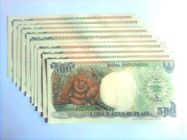 500 rupiah tahun 1992