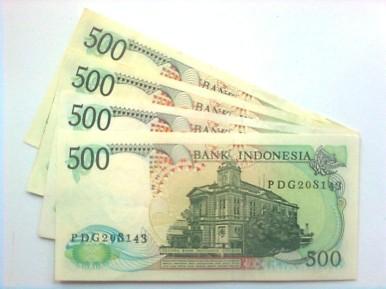 500 rupiah tahun 1988